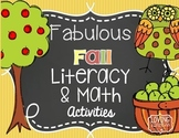 Apples: Kindergarten Literacy, Science and Math