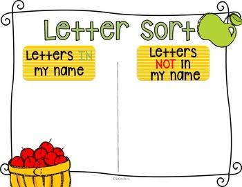 Apples: Kindergarten Literacy, Science and Math