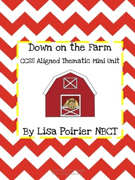 CCSS Farm Mini Unit