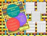 CCSS First Grade Math Worksheet Bundle