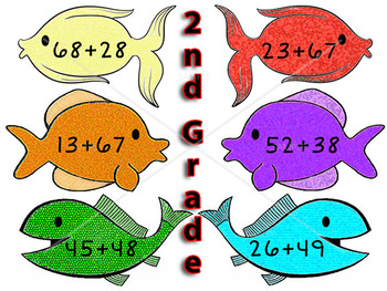 Addition Math Game for Centers and Small Group Play