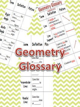 CCSS Geometry Glossary