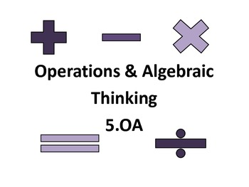CCSS Grade 5 Math Objectives