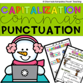 Capitalization and  Punctuation - Worksheets - First Grade