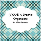 Character Graphic Organizers - CCSS ELA Aligned