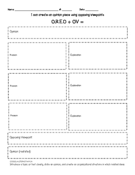 CCSS Graphic Organizers