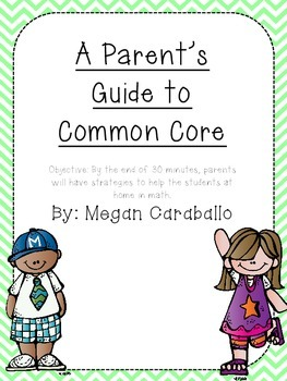 CCSS Guide for Parents