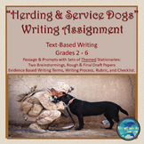 """""""HERDING DOGS AND SERVICE DOGS"""" TEXT-BASED WRITING ASSIGNMENT"""