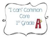 "CCSS ""I Can"" Posters- Grade 1"