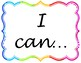 CCSS I Can Statements