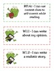 """CCSS """"I Can"""" Statements(Student Lang.)-ELA and Math- Frog Theme"""
