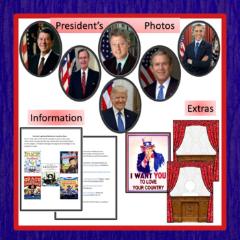 """CCSS """"IF I WERE PRESIDENT FOR A DAY"""" BUNDLE TEXT-BASED WRITING ASSIGNMENTS"""