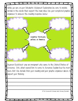 Common Core Immigration Reading, Writing, Social Studies Thematic