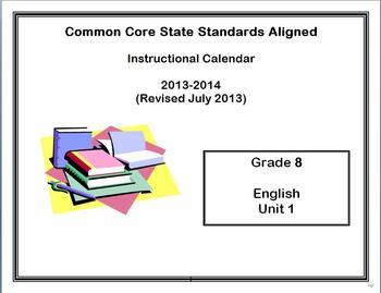 Common Core State Standards Calendar and Lesson Plans Grad