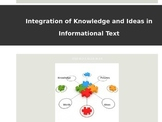 CCSS -Integration of Knowledge and Ideas in Informational Text - 3rd Grade