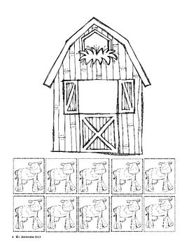 CCSS K.OA.4: Cows in the Barn