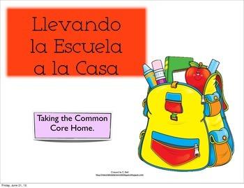 CCSS Kindergarten Math Board Spanish games. Juegos de mesa