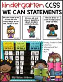 CCSS Kindergarten We Can Statements