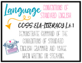 CCSS Language Standards - 6th Grade