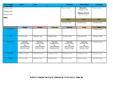 CCSS Lesson Plan Template Fourth Grade Teacher Keys All Subjects