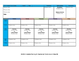 CCSS Lesson Plan Template Second Grade All Subjects