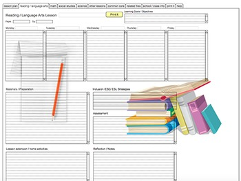 CCSS (Common Core State Standards) Lesson Planning Software - Mac