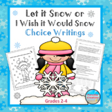 """Let it Snow or I Wish it Would Snow Here"" TEXT-BASED WRIT"