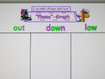 CCSS Literacy and Math Vowel Combination Word Sort and Data Graphing