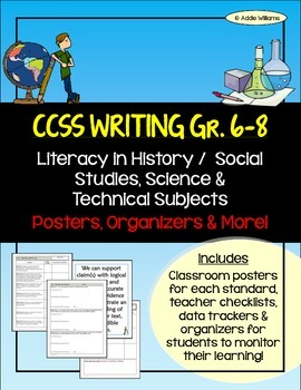 CCSS - Literacy in History/Soc. St., Science & Tech. Subjects - Gr. 6-8 WRITING