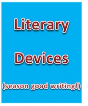 CCSS: Literary Devices, Techniques, & Tools (With Quiz & Key)