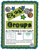 CCSS MAKE EQUAL AMOUNTS WITH COINS COUNTING MONEY GAME OR MATH CENTER