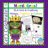"CCSS ""MARDI GRAS"" TEXT-BASED WRITING ASSIGNMENT"