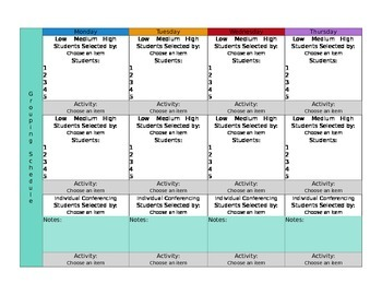 CCSS Mac Version Lesson Plan Template Third Grade All Subj.-GA Science included