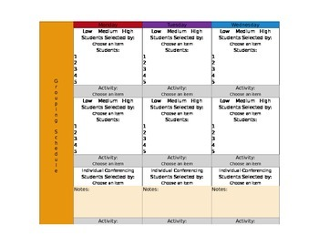 CCSS Mac Version TKES Lesson Plan Template First Grade -GA Science included
