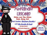 CCSS Magic Tree House Abe Lincoln *COMBO*Non-Fiction and Fiction Book Study Unit
