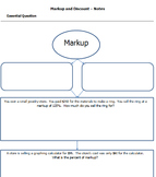 CCSS Markup Cornell Notes