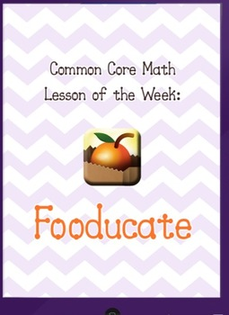 Common Core Math meets iPad app Fooducate