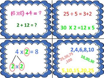 CCSS Math Academic Language Vocabulary Matching Activity