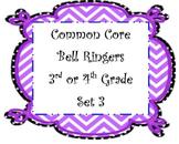 Math Bell Ringers Set 3