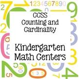 CCSS Math Centers Kindergarten