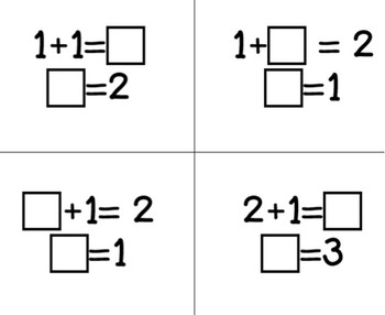 CCSS Math Fluency Facts within 20 with Missing Addends and Sums