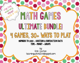 CCSS 2nd Grade Math Games & Stations Ultimate Bundle