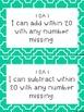 CCSS Math I Can Statements