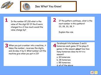 CCSS Math Morning Work Promethean Board Flipcharts