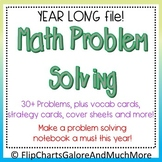 CCSS Math PROBLEM SOLVING Whole Year Interactive Notebook