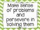 CCSS Math Practices Posters {Chevron}