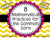 CCSS Math Practices Posters {Chevron}