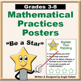 Grades 3-8 Common Core Mathematical Practices Posters
