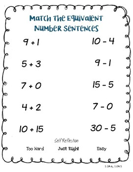 CCSS Math SeeSaw Exit Tickets