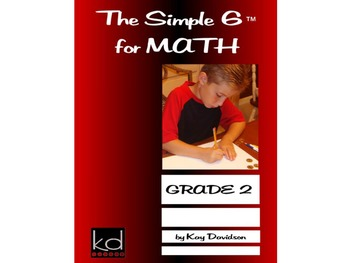 CCSS Math: The Simple 6 for Math Grade 2